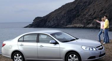 Chevrolet Epica, удобный городской седан