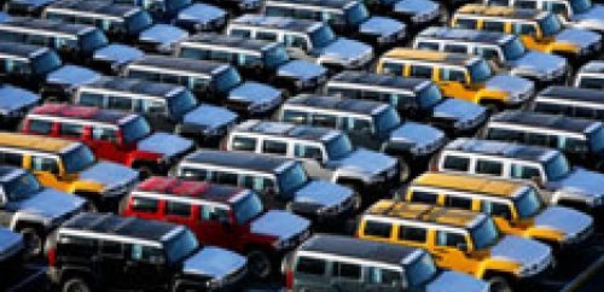 В США отмечается обвал рынка подержанных машин