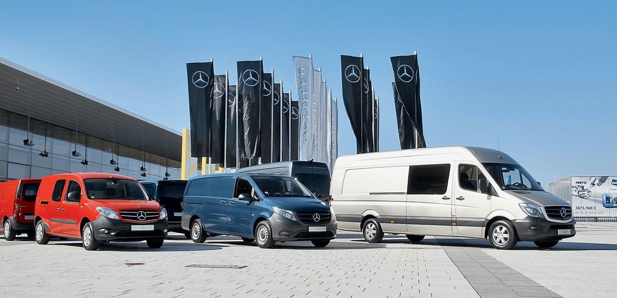 Куда шагает LCV: будущее от Mercedes-Benz Vans