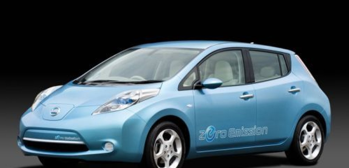 Nissan представил полностью электрический LEAF