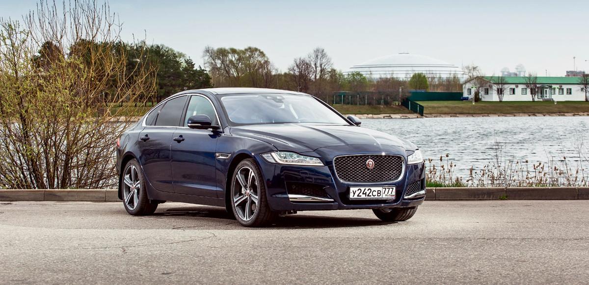 Jaguar XF. Интродукция