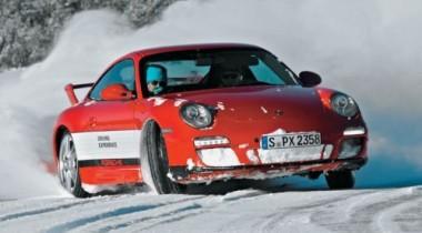 Porsche Driving School. Ледовая феерия