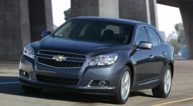 Среднеразмерная модель Chevrolet Malibu приходит в Европу
