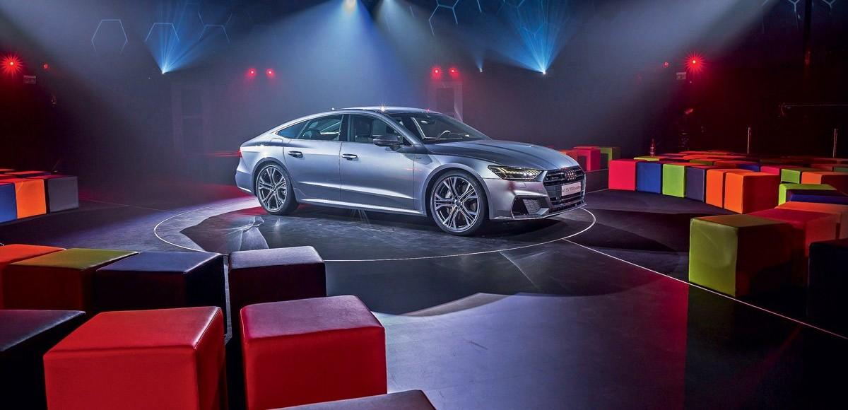 Audi A7 Sportback. Гостья из будущего