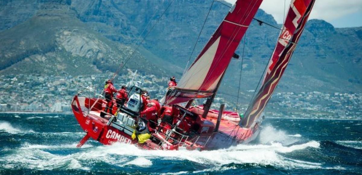 Регата Volvo Ocean Race: противостояние команд Abu Dhabi и Camper