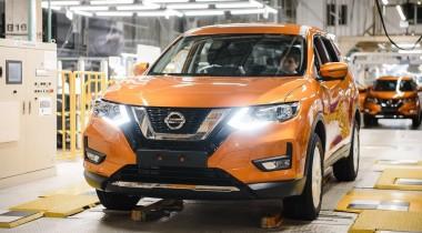 В России началось производство обновленного Nissan X-Trail