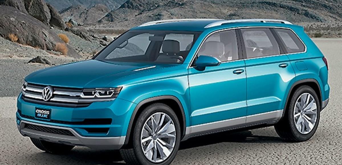 Volkswagen CrossBlue. Великан