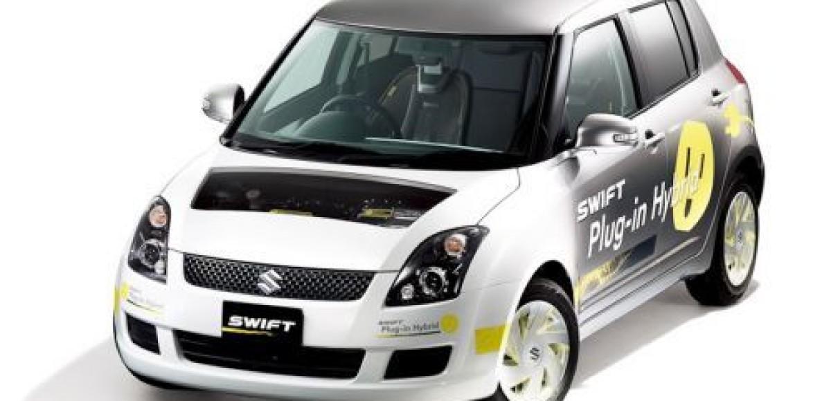 Женевский автосалон 2010. Suzuki: технологии будущего