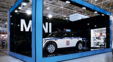 BMW Group Russia представила автомобиль ДПС марки MINI