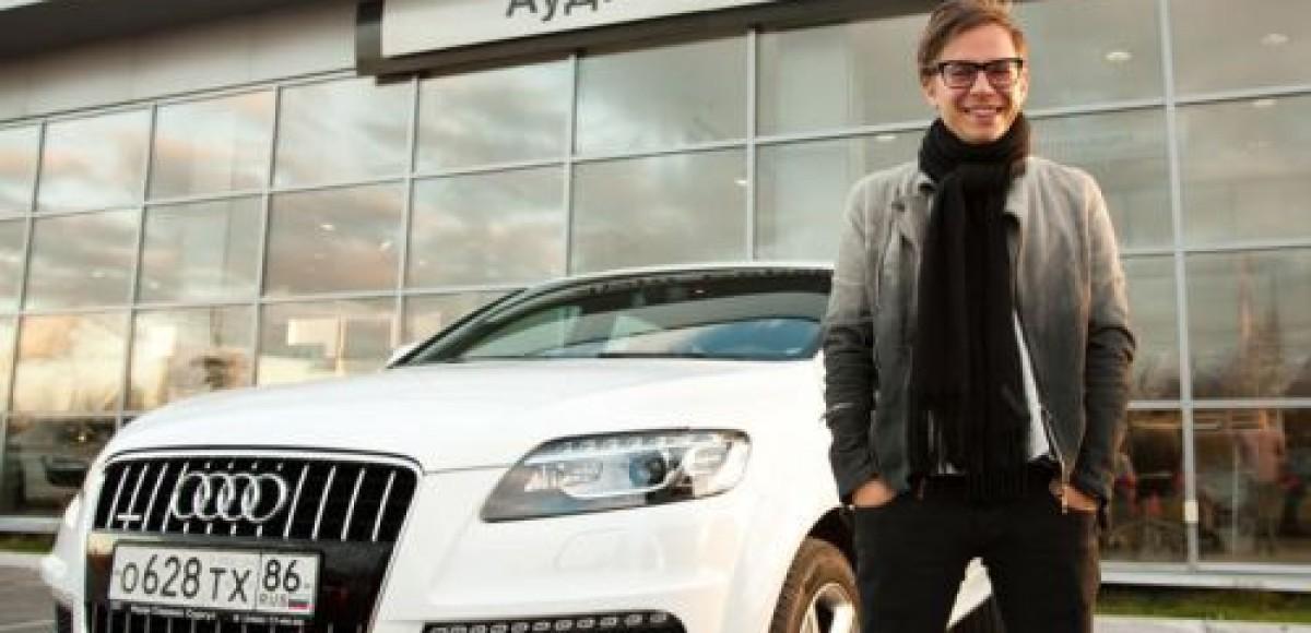 В Сургуте Илье Лагутенко одолжили Audi Q7