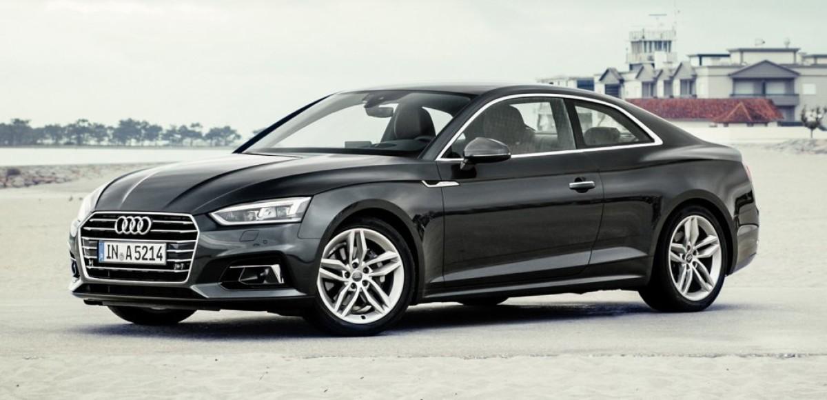 Объявлены цены на новую Audi A5