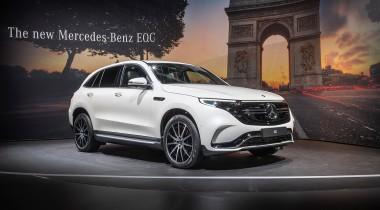 Mercedes-Benz EQC. Электрический кроссовер дебютировал в Париже