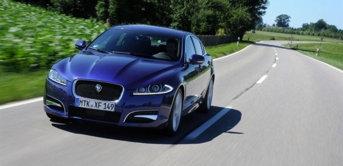 Jaguar XF блестяще выдержал тест-драйв на 100 000 км