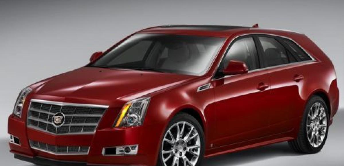 Cadillac представил универсал CTS Sport Wagon