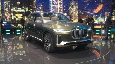 BMW Concept X7 iPerformance: каким будет самый большой баварский кроссовер