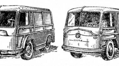 ЛАЗ-750 и 751: электрические «почтальоны»