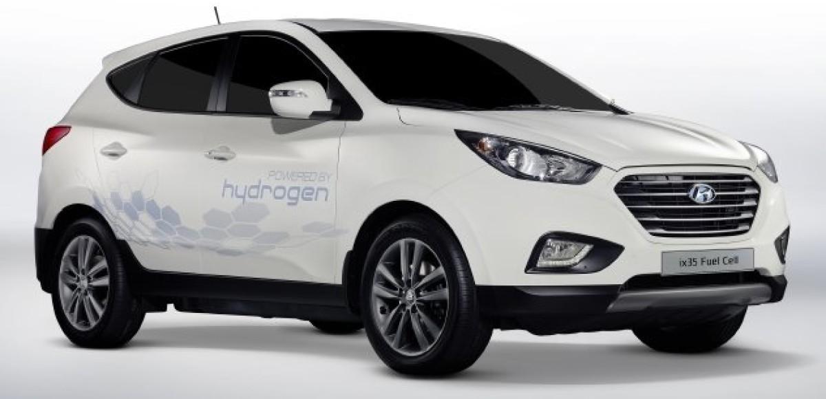 Модель Hyundai ix35 Fuel Cell выбрана для проекта «Водород для Инновационных Автомобилей»