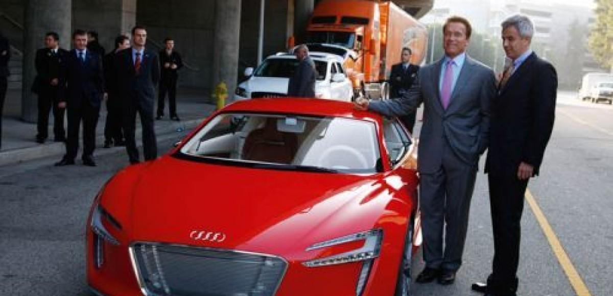 Арнольд Шварценеггер повернулся лицом к экологическому транспорту