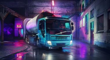 Volvo FE Electric: город станет чище