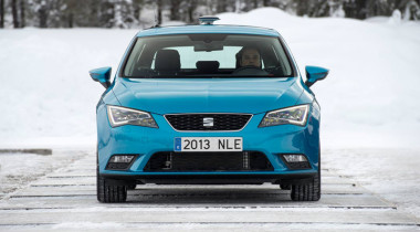 SEAT Leon SC: зимние испытания