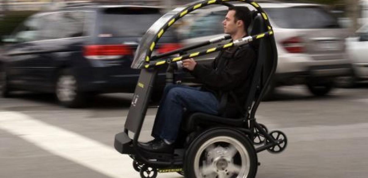 General Motors представляет P.U.M.A. — двухместный «сидячий» Segway