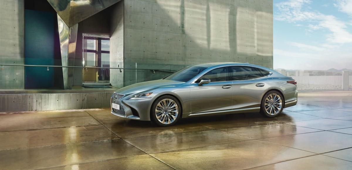 Новый Lexus LS: объявлены российские цены