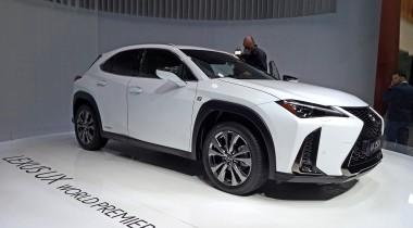 Lexus UX: «входной билет»