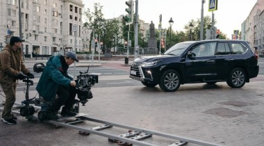 Lexus снимается в кино