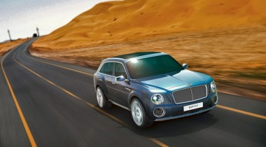 Bentley EXP 9 F. Жажда наживы