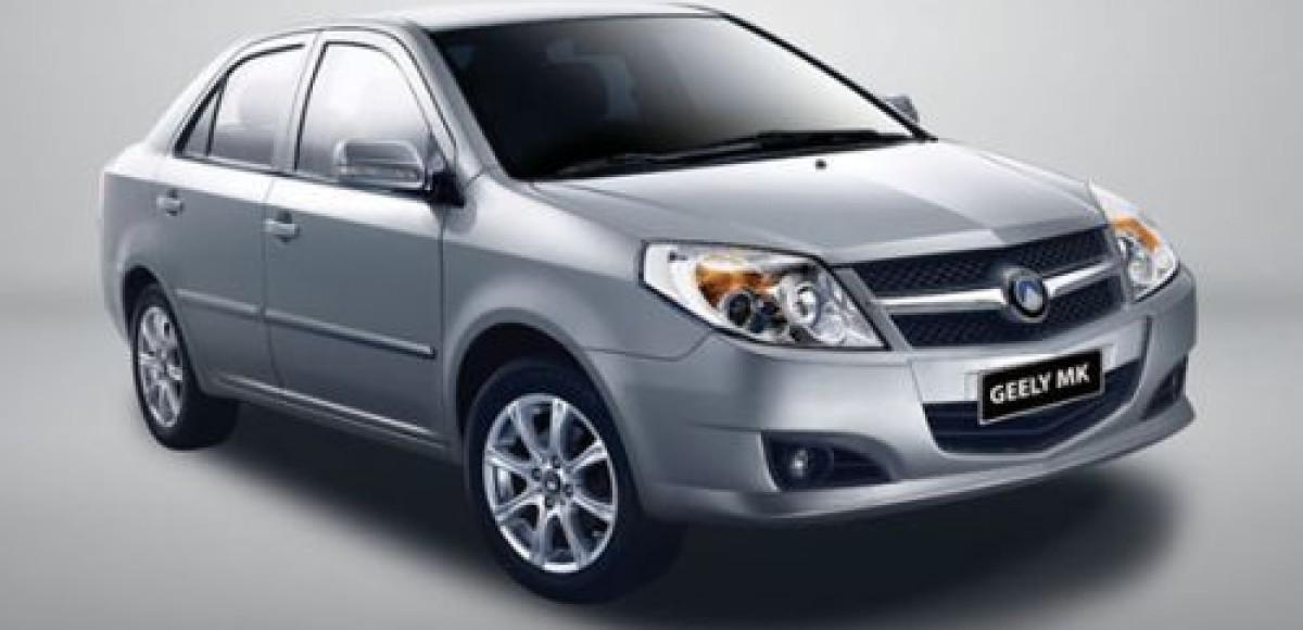 В России начались продажи Geely MK российского производства