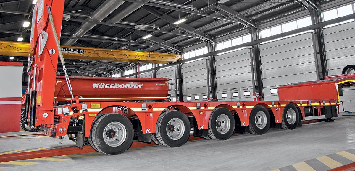 Точки роста: как обслуживают прицепы Kaessbohrer