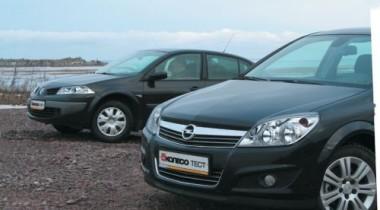 Opel Astra sedan vs Renault Megane. Интеллигенты