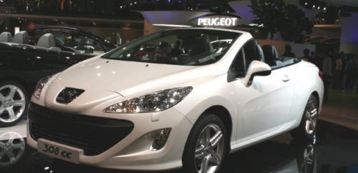 Peugeot на Международном автосалоне в Париже