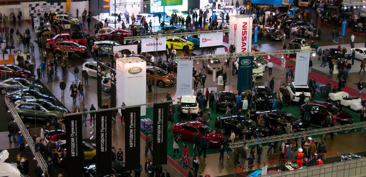 Международная выставка «Мир автомобиля» в Петербургском СКК