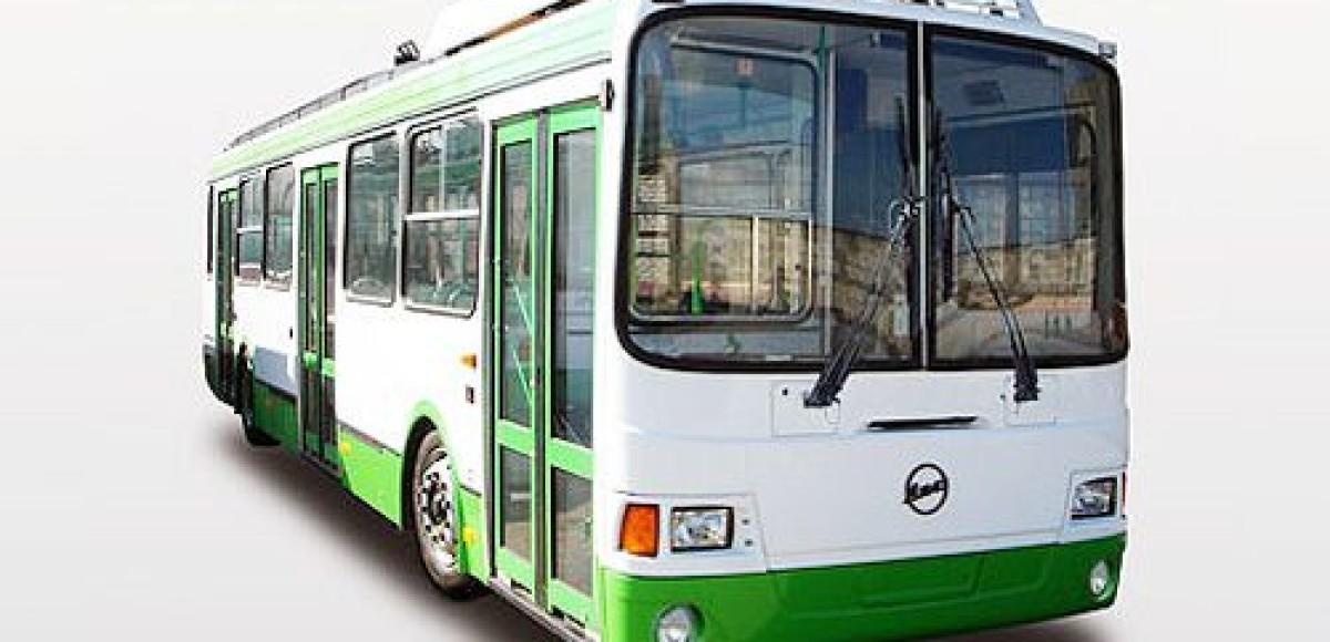 Новый троллейбус