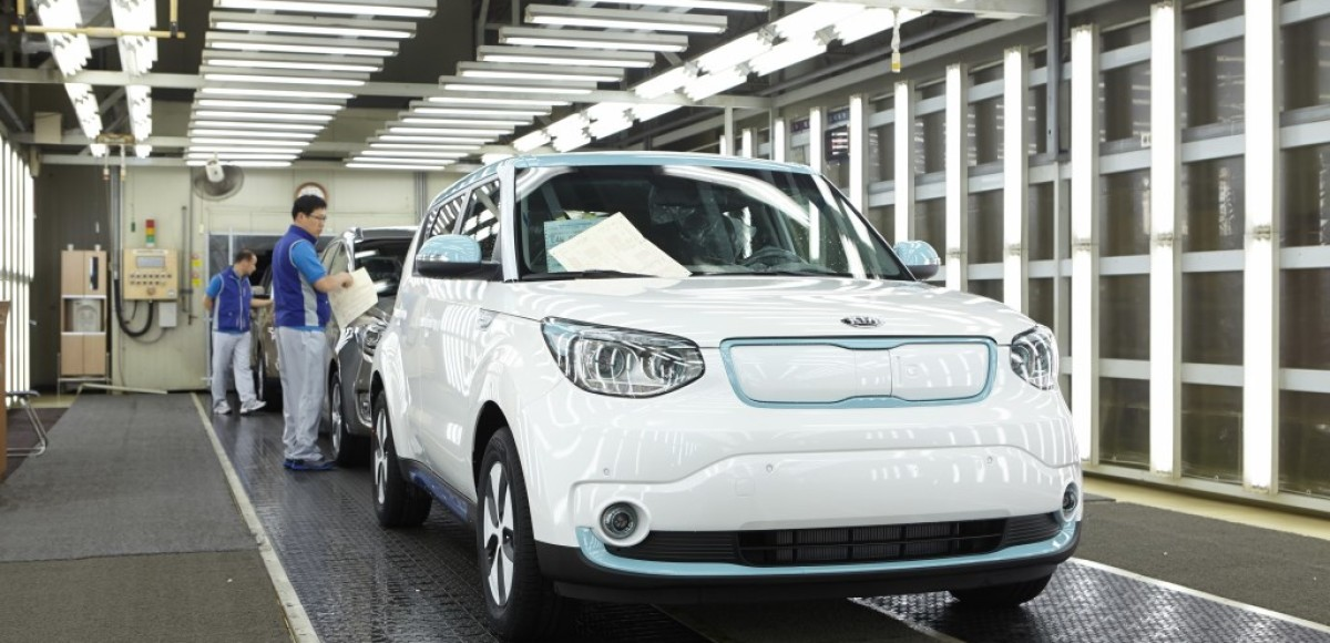 Электрический Kia Soul EV выходит на европейский рынок