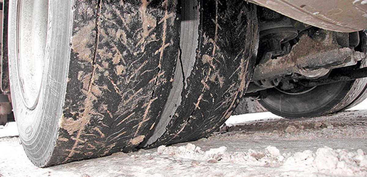 Ресурсные испытания: грузовые шины Goodyear KMAX