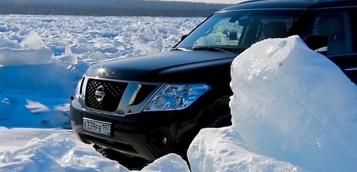 Nissan на Байкале. Байкальский марш