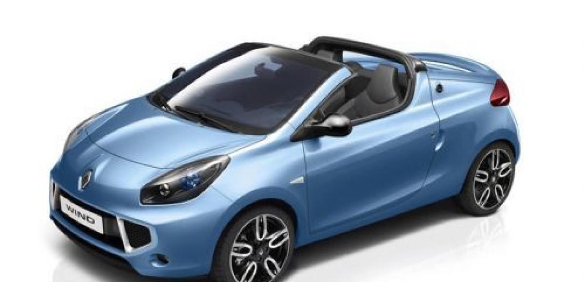 Купе-родстер Renault Wind впервые покажут в Женеве