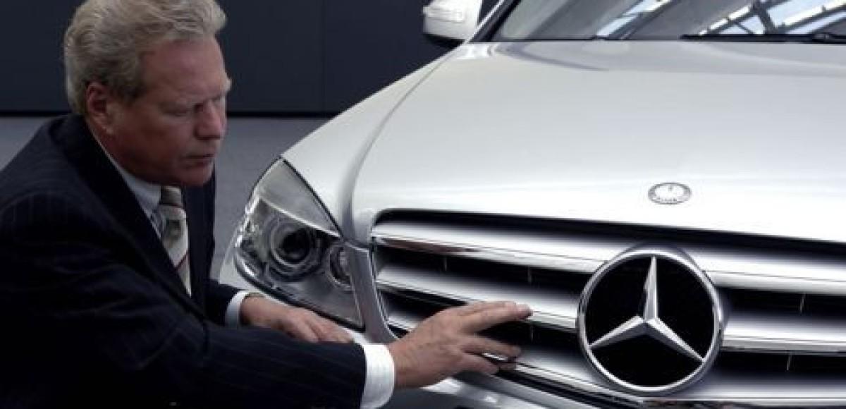 Шеф-дизайнер Mercedes-Benz уходит в отставку