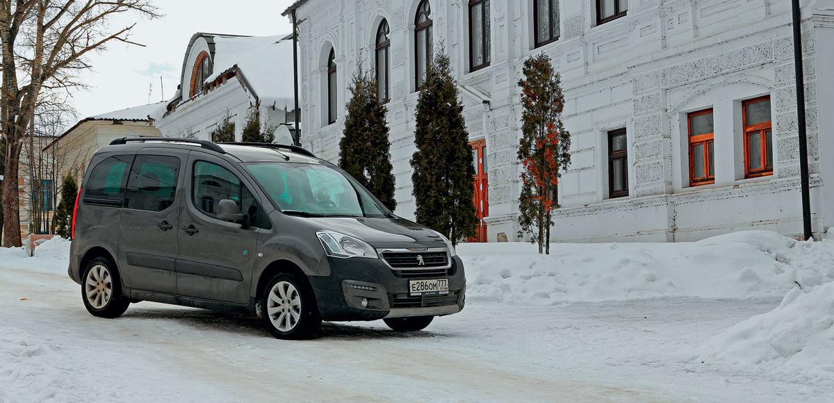 Peugeot Partner. Рационалист