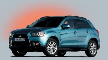 Mitsubishi ASX. Три на одной