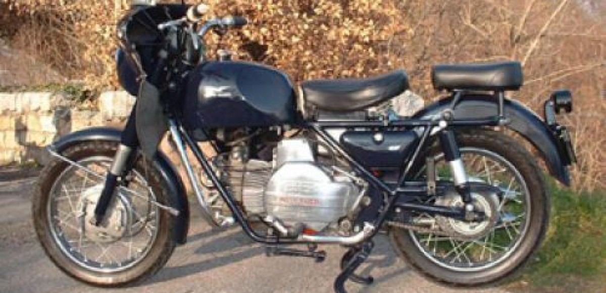 В Великобритании похищен раритетный мотоцикл