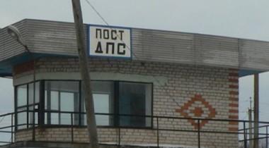 В Дагестане КАМАЗ разнес пост ГИБДД
