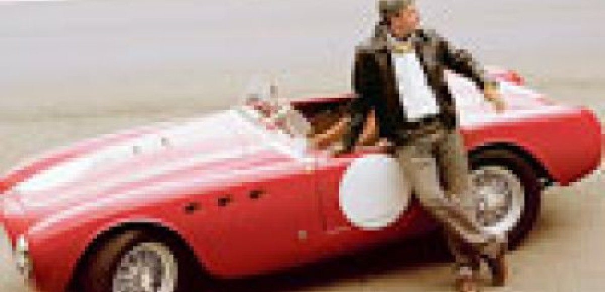 1952 Ferrari 225S Vignale Spider. Красный дьяволенок