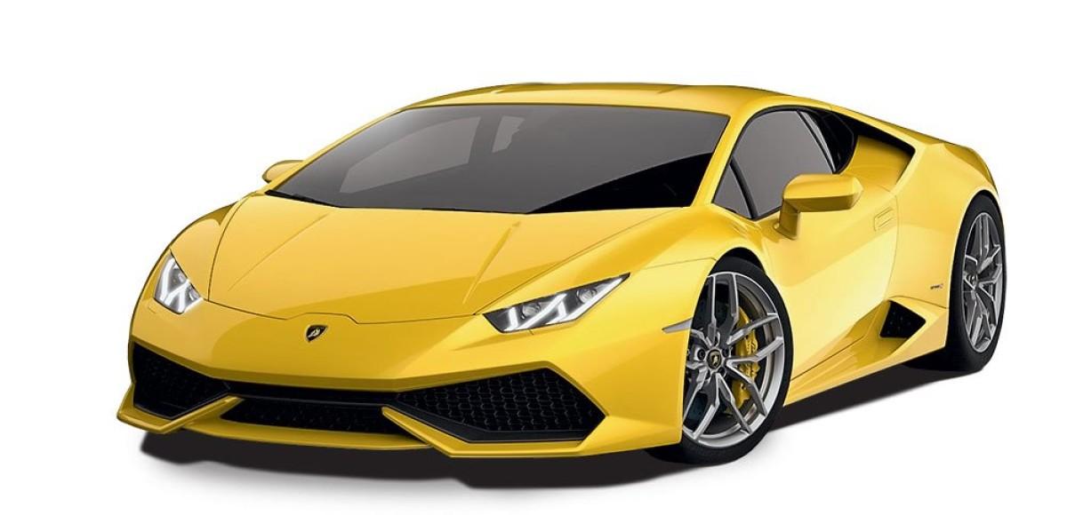 Ураган. Lamborghini Huracan LP610-4
