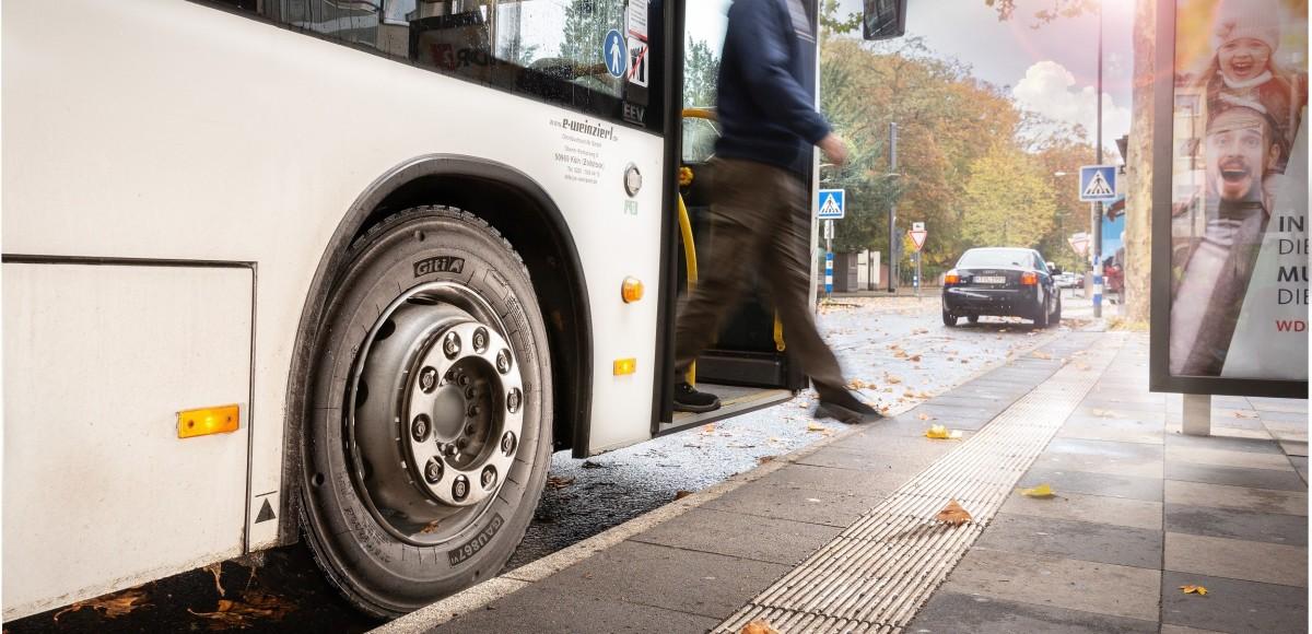 Giti обновила шины для городских автобусов