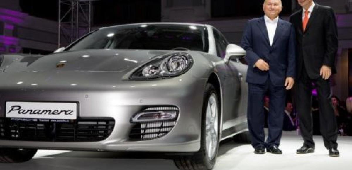 В Москве состоялась российская премьера Porsche Panamera