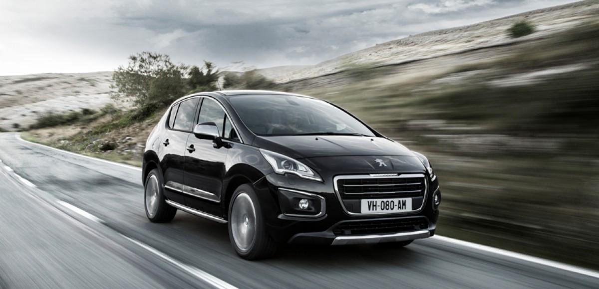 Новый Peugeot 3008 поступит в продажу к концу марта