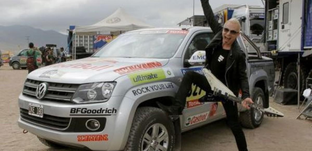 Рудольф Шенкер из Scorpions: «Volkswagen Amarok – просто рок-н-ролл!»